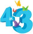 4in3 logo